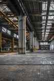 Dark industrial interior Royalty Free Stock Photo
