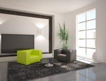 Dark interior Royalty Free Stock Photo