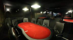 Dark interior of european casino. Luxury and stylish interior of european casino Stock Photography