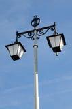 Dark Iron Street Lantern Royalty Free Stock Photography