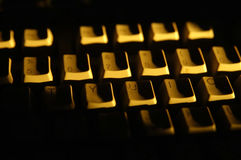 Dark keys Stock Images