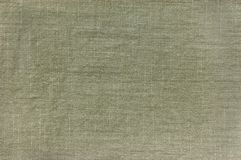 Dark Khaki Cotton Texture Detailed Closeup Stock Photos