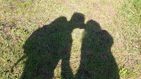 dark kiss stock image