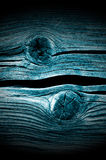 Dark Knotted Wood Planks Close-Up Stock Photos