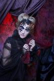 Dark Lady. Stock Images