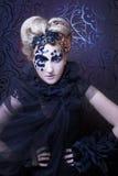 Dark Lady. Royalty Free Stock Photos