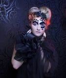 Dark Lady. Stock Photos