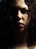 Dark lady Royalty Free Stock Photography