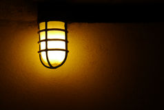 Dark lantern Royalty Free Stock Photography