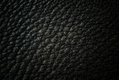 Dark leather royalty free stock photo