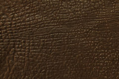 Dark leather background Royalty Free Stock Photography