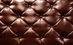 Dark leather background Stock Photography