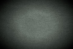 Dark Leather Background with Spotlight Royalty Free Stock Photos