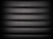 Dark leather padded leather Stock Photography