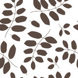 Dark leaves background Royalty Free Stock Image