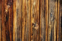 Dark and light brown old wood texture background. stock photography