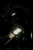 Dark light Bulb Royalty Free Stock Images