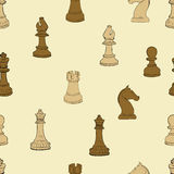 Dark and light chess Royalty Free Stock Photo