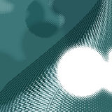 Dark and light turquoise halftone background. stock images