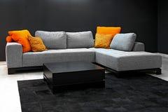 Dark living room Stock Image