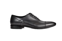 Dark male shoe-11 Royalty Free Stock Images