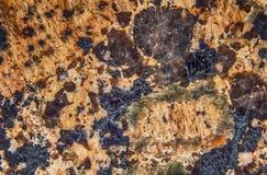 Dark Marble Granite Stone slab surface Royalty Free Stock Photo