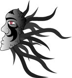 Dark mask symbol Stock Photography