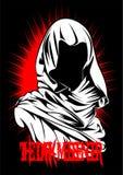 The Dark Messenger royalty free illustration