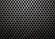 Dark metal brushed. Dark brushed metal with round hole punched in it royalty free illustration