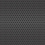 Dark metal cell seamless background Royalty Free Stock Images