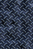 Dark metal diamond hatch background texture Stock Image