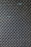 Dark Metal Diamond Plate Royalty Free Stock Image