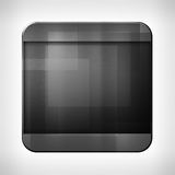 Dark metal texture icon. (button) on neutral background, template for applications (app), web user interfaces, internet sites and business presentations royalty free illustration