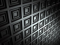 Dark Metallic Shiny Wall Background Stock Photography