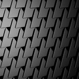 Dark metallic silver triangle pattern industrial background Royalty Free Stock Images