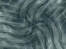 Dark Metallic Waves Pattern royalty free stock photo