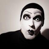 Dark mime Royalty Free Stock Photo