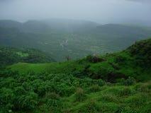 Dark Monsoon Colors. Monsoon Landscape Colors Stock Photos