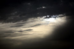 Dark moody sky Royalty Free Stock Photography