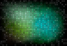 Dark mosaic green background Royalty Free Stock Photos