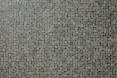 Dark mosaic tiles Royalty Free Stock Photography