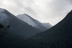 Dark Mountains Stock Photography