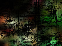 Dark Multicolored Grunge Background Stock Image