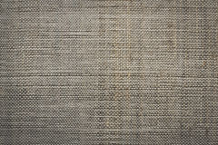 Dark natural linen texture Royalty Free Stock Images