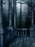 Dark Night. A premade background for artists and designers to use Stock Photography