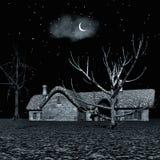Dark night stock photos