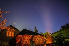 Dark night sky with stars. Stock Photography