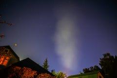Dark night sky with stars. Royalty Free Stock Image