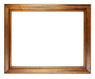 Dark Oak Picture Frame Stock Photos