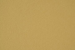 Dark Ocher Textured Paper Royalty Free Stock Photo